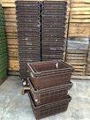 Pallet-Curver-kunststof-beugelkist-bruin-(gebruikt)-595x39x265cm