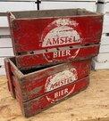 Houten-brocante-bierkrat-Amstel-Bier