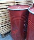 Vat-100-liter-Rood-met-opdruk-2e-Keus-Gedeukt