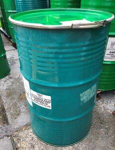 Vat 200 liter opdruk Donker Groen - Groene deksel