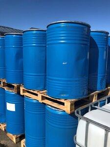 Vat 200 liter Blauw Ribbel