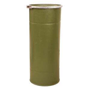 Metalen Tube groen (munitiekoker)