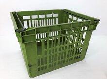 Curver-kunststof-beugelkisten-verhuiskist-=-stapelkist-groen-(gebruikt)
